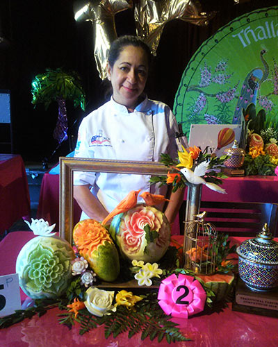 Thai competition 2nd place winner Yolanda Diaz