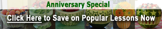 Anniversary Special on Melon Basket Weave and Star Flower Bowl video lessons