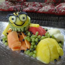minion watermelon by Cindy Rozich