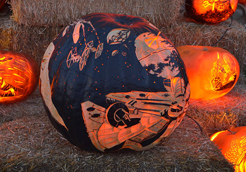 Star Wars Spacecraft pumpkin