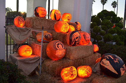 Carved pumpkins for halloween nita s fruit and