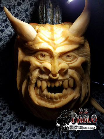 devil pumpkin by david smith