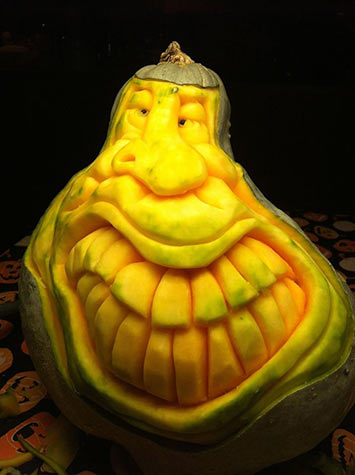 gourd face by patrick harrison