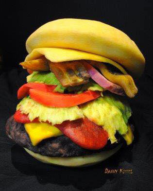 burger pumpkin by Danny Kissel