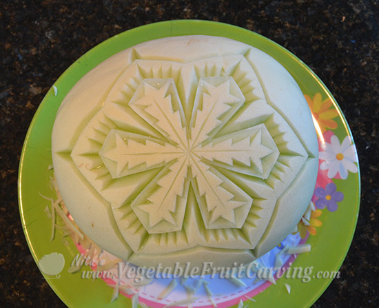 honeydew snowflake pattern