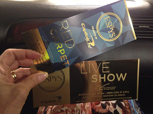 ESPY Award tickets