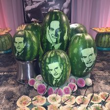 watermelon portraits by Ric Testani