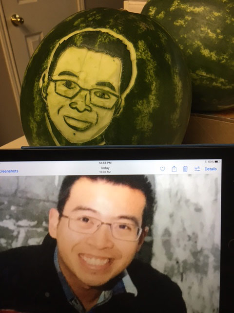 watermelon portrait by Diep Tran