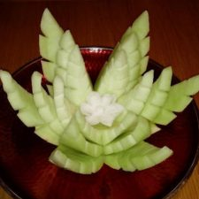 Honeydew Lotus created by Dean Phillips