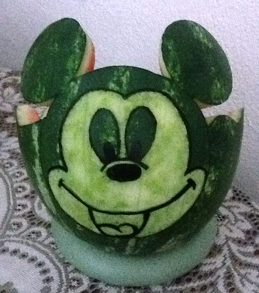 Mickey Mouse fruit bowl