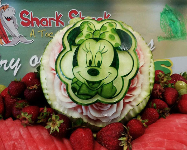 Another Minim Mouse melon by Mariano Orozco