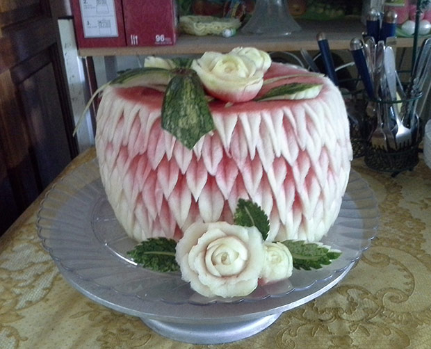 Watermelon cake for Easter