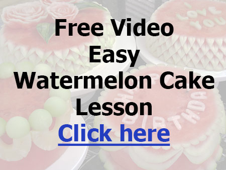 Get Your Free Easy Watermelon Cake Lesson