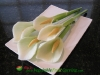 calla lilly garnish