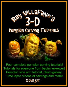 Ray Villafane 3D Pumpkin Carving Tutorials