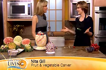 Nita On San Diego Living TV show