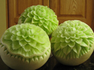 CArving Melons - Smooth and Jagged Petals