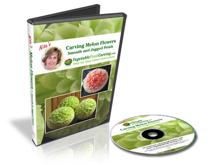 Carving Melon Flowers - DVD