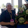 Ric Testani with his watermelon carvings at Food Network's South Beach Food and Wine Festival