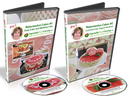 Watermelon Cake Video Lesson DVDs
